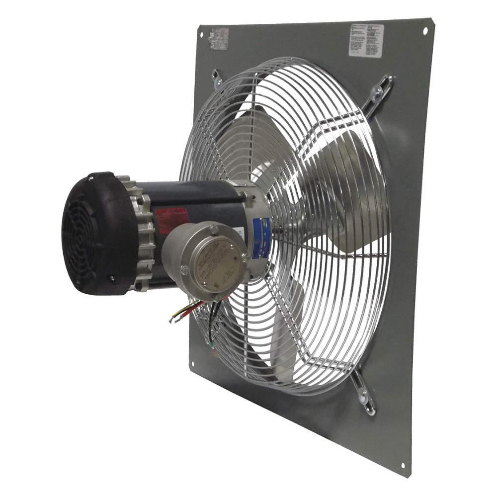 Explosion Proof Fan >> 1 3hp 115 208 230vacv Panel Mounted Explosion Proof Exhaust Fan