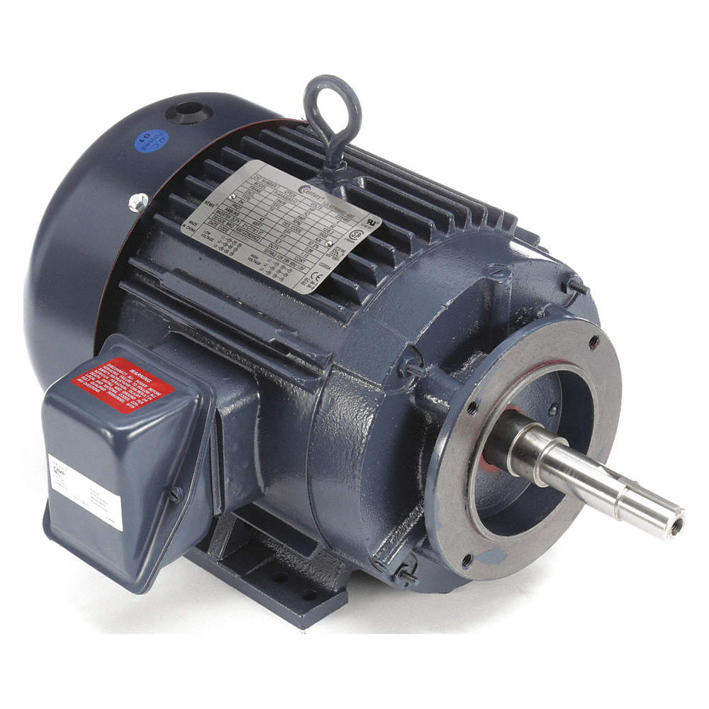 CENTURY 5 HP Close-Coupled Pump Motor,3-Phase,3505 Nameplate
