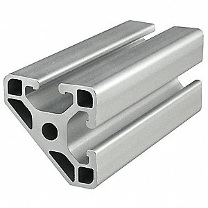 Framing Extrusion,T-Slotted,40 Series