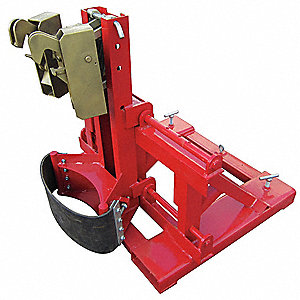 Drum Lifter, Single Chime Jaw, 1500 lb
