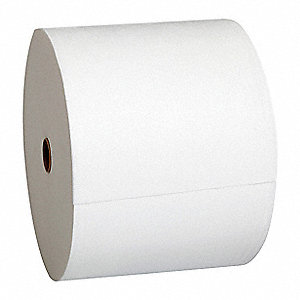 "Brawny® Professional Hydroentangled Fiber Wiper Roll, 1776 Ct. 9-36/64"" x 6-3/4"" Sheets, White"