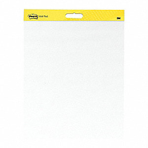 Easel Pad,Plain,White,20 in x 23 in,PK2