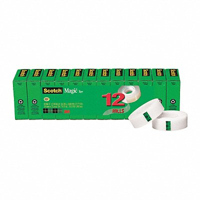 29PL21 - Office Tape Matte Acetate PK12