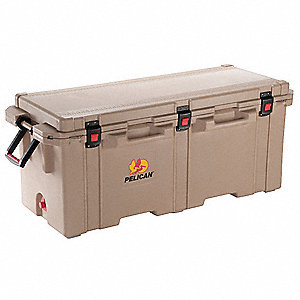 Marine Chest Cooler,Hard Sided,250.0 qt.