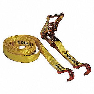 STRAP TIE-DWN RTCHT 1000LB 1INX15FT