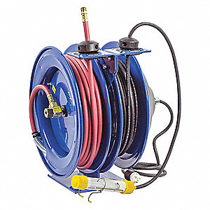 Coxreels combination airelectric reel 03 amps 16 wire gauge awg combination airelectric reel 03 amps 16 wire gauge awg greentooth Images
