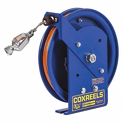 29PZ15 - Cord Reel Spring 100 ft Cord 15 H Blue