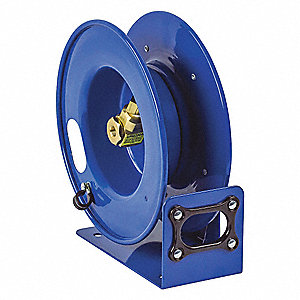 "Hose Reel,1/4"" FNPT,25 ft,Spring"
