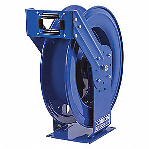 "1"", 35 ft. Spring Return Hose Reel, 300 psi Max. Pressure"