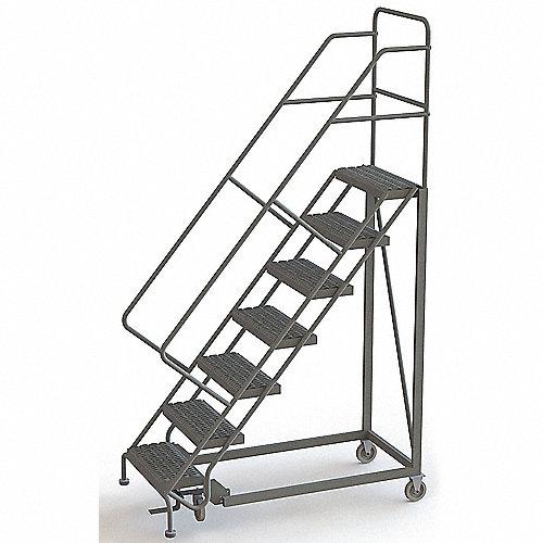 Tri arc escalera m vil 7 escalones acero 450 lb for Escaleras 7 escalones