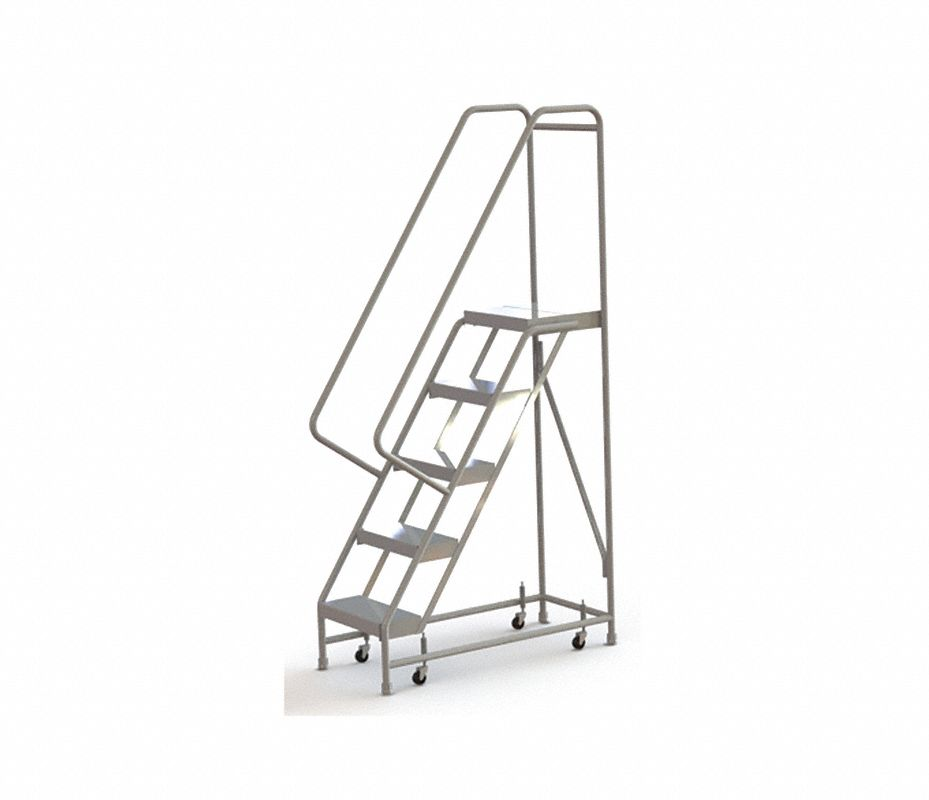 Tri arc escalera rodante 5 pelda os aluminio escaleras - Peldanos de escaleras precios ...