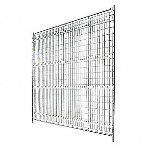 Wire Partition Panel,Galvanized Metal