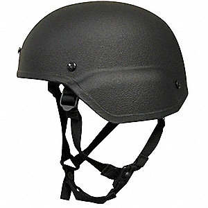 Helmet,Black,Level IIIA,Large