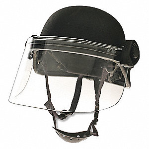 Riot Face Shield,Clear,Polycarbonate