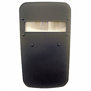 "Curved Ballistic Shield, Protection Level IIIA, 36"" Height, 24"" Width"