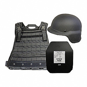 Active Shooter Kit, Level III, XL, Black