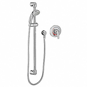 Brass Water Saving Three Function FloWise Shower System, 1.5 gpm