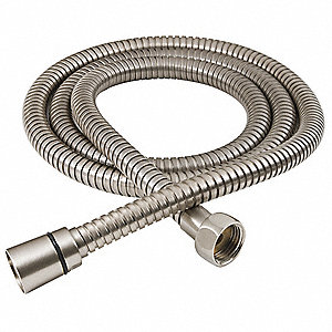 "Shower Hose,Metal,59"" L"