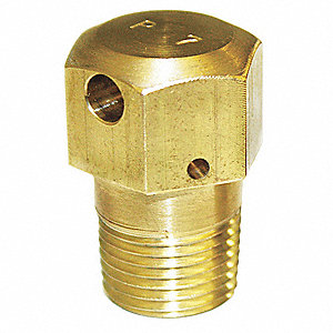 Vent Limiting Device, Brass, For Use With Flush Valves