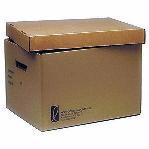 "Letter/Legal File Box, Inside Width 12"", Inside Length 15"", Inside Depth 10"", 25 PK"