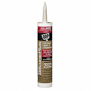 Almond Sealant, Silicone, 10.1 oz. Cartridge