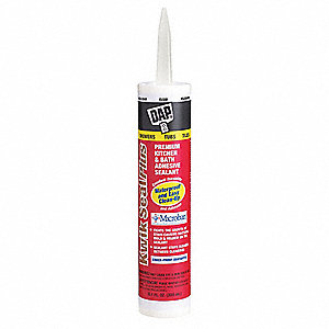 Clear Caulk, Acrylic, 10.1 oz. Cartridge