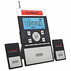Table Top Weather Radio, Black