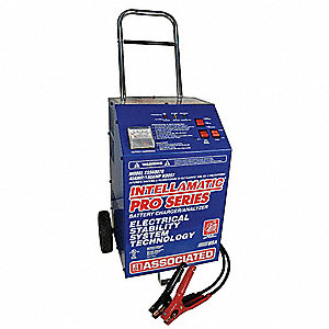 Battery Charger/Starter,40A,120VAC
