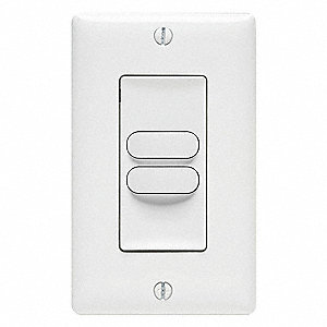Wall Switch,Push Button,Momentary,White