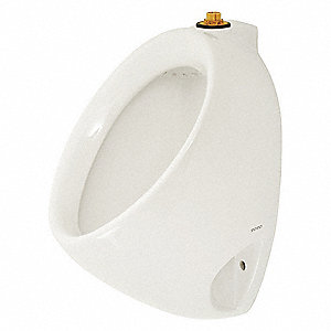 "Washout Wall Hung Urinal, 0.5 Gallons per Flush, 15-1/8""H x 13-3/4""W, White"
