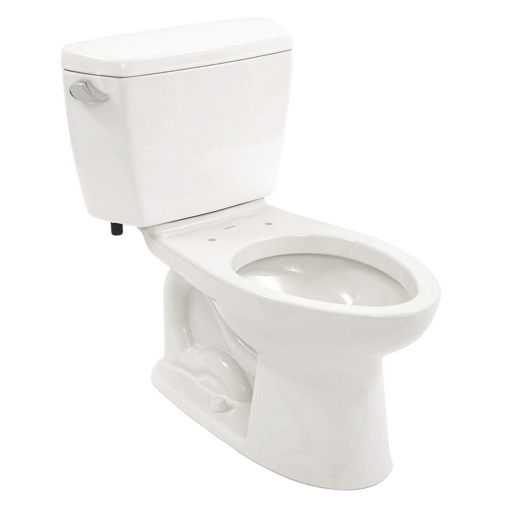 TOTO Eco Drake ADA Two Piece Tank Toilet, 1.28 Gallons per Flush ...