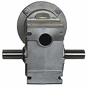 Aluminum Right Angle Speed Reducer, Universal, 2250 lb. Overhung Load