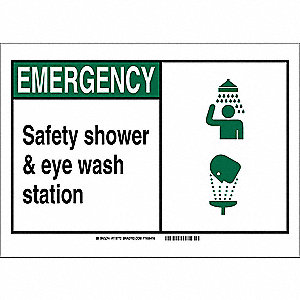 Office and Facility Sign,10in.Hx14in.W