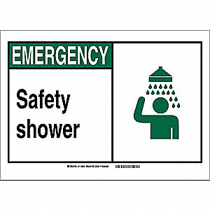 Office and Facility Sign,7in.Hx10in.W