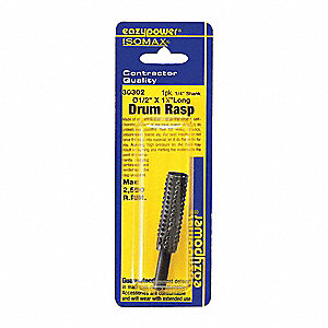 Drum Rasp,1/2 in.,1 pcs.