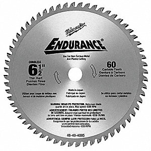 Milwaukee circular saw blade6 12 in60 teeth 29un8148 40 4005 circular saw blade6 12 in60 teeth greentooth Image collections