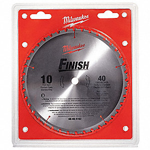 Circular Saw Blade,10 In.,40 Teeth