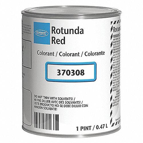 TENNANT Colorante de Pintura, Color Rojo, 1 pt. - Colorantes de ...