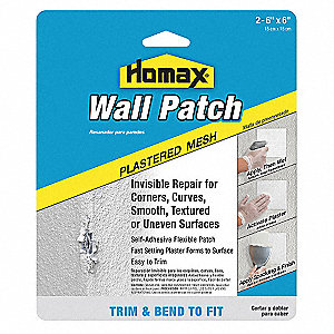 Wall Patch,Self Adhesive,6x6in,PK2