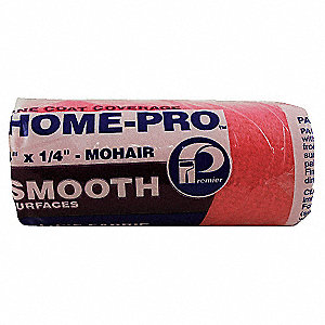 Paint Roller Cover,4 in,Woven Mohair