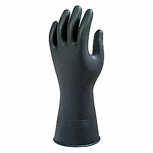 Gloves,Natural Rubber ,7-1/2,PR