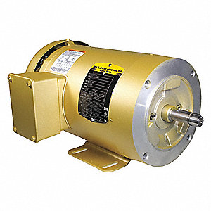 2 HP General Purpose Motor,3-Phase,1755 Nameplate RPM,Voltage 208-230/460,Frame 56C