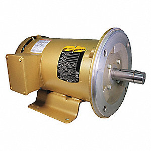 3 HP General Purpose Motor,3-Phase,3450 Nameplate RPM,Voltage 208-230/460,Frame 182TC