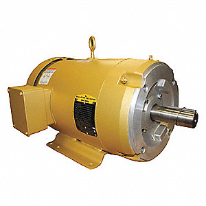 5 HP General Purpose Motor,3-Phase,1160 Nameplate RPM,Voltage 208-230/460,Frame 215TC