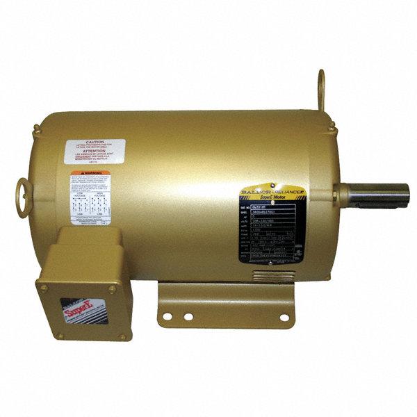 Baldor electric 1 2 hp general purpose motor 3 phase 1725 for Baldor 2 hp single phase motor