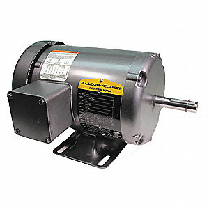 Baldor electric 1 3 hp general purpose motor 3 phase 1725 for 3 hp electric motor 1725 rpm single phase