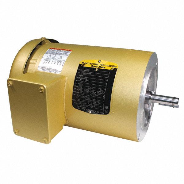 Baldor Electric 3 4 Hp General Purpose Motor 3 Phase 3450