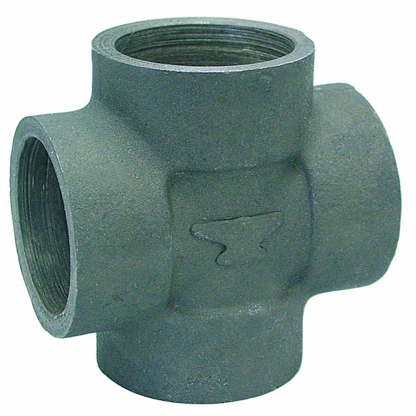 Anvil cross socket weld quot pipe size fitting