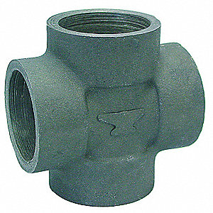"Cross, Socket Weld, 1"" Pipe Size - Pipe Fitting"
