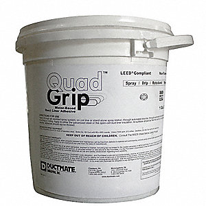 White 1 gal. Adhesive,Insulation, 10 to 20 min. Curing Time, 1 EA